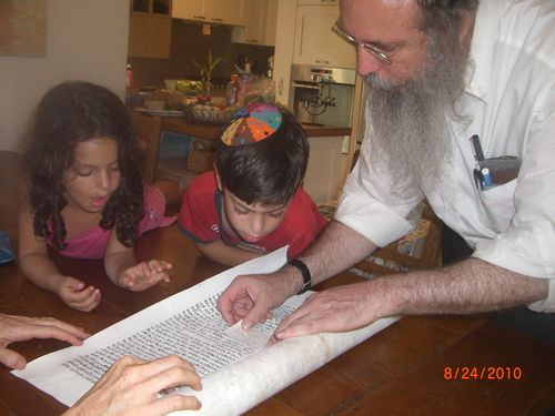 Checking Letters with Torah Scribe